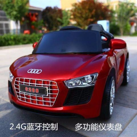 New Mini Audi Electric Ride On Toy Car For Kids (Mettalic Paint)-11Cart