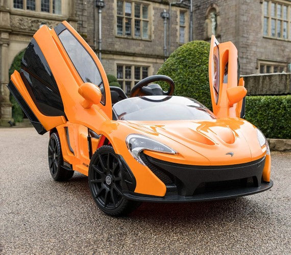 Licensed McLaren P1 Ride On Car For Kids - Orange