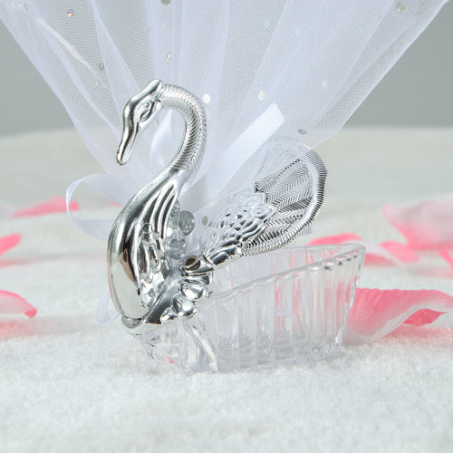 10 Pcs Swan Candy Chocolate Boxes