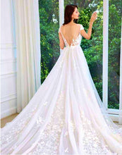 "Load image into Gallery viewer, Pure Joie ""ASHLEY"" Bridal Gown"
