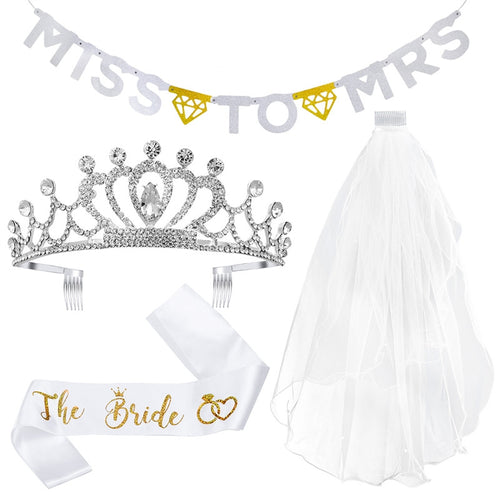 Bachelorette Party Bride Decorations Kit