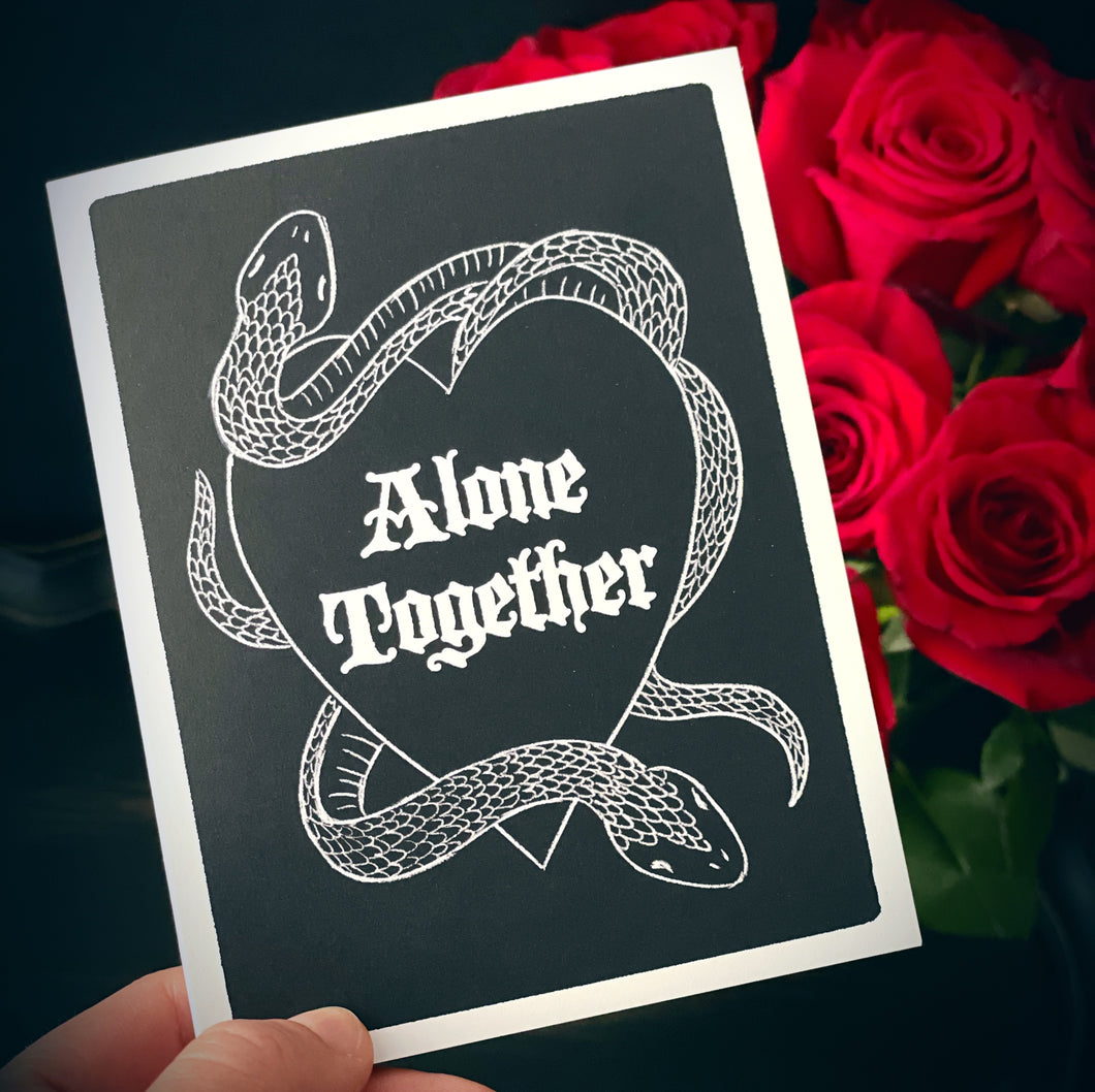 Alone Together - Folding Card