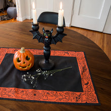 Load image into Gallery viewer, Harvest Altar Cloth - Black and Orange