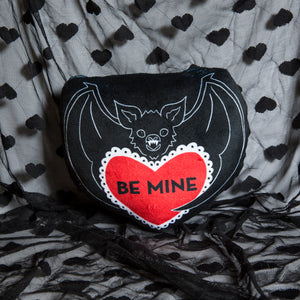 PRE ORDER - Be Mine Bat Mini Pillow