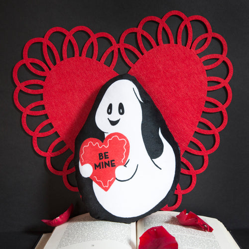 Be Mine Ghost Mini Pillow