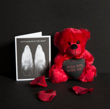 Load image into Gallery viewer, PRE ORDER Will You Bury Me? Red Teddy Bear