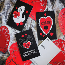 Load image into Gallery viewer, Perforated Valentine's Sheet - Set of Four Adjoined Cards