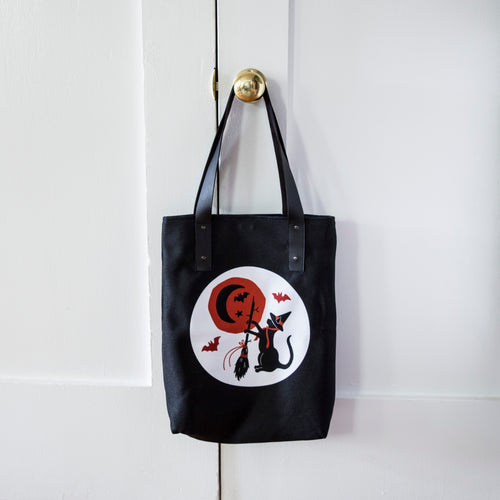 Moonlit Magic Fully Lined Vegan Tote