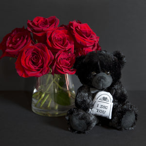 PRE ORDER I Dig You - Black Teddy Bear