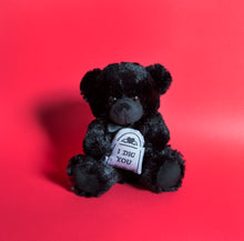 Load image into Gallery viewer, PRE ORDER I Dig You - Black Teddy Bear