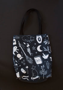 LAST ONE! Familiar's Realm Basic Tote Bag