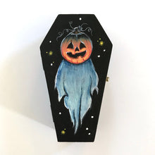 Load image into Gallery viewer, Will O'the Wisp Hand Painted Trinket Box