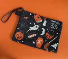 Load image into Gallery viewer, LAST ONE! Ghouls Night Out Print Carry All Clutch