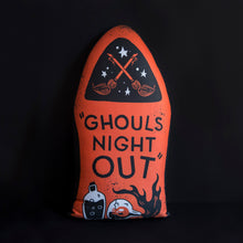 Load image into Gallery viewer, Ghouls Night Out - Large Gravestone Pillow