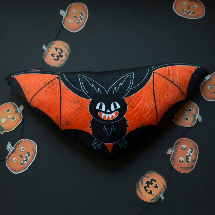 Halloween Bat Mini Pillow