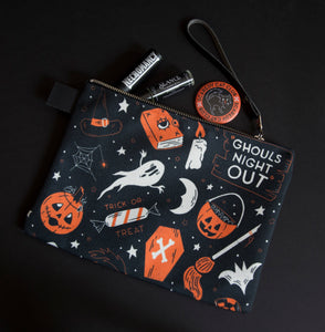 LAST ONE! Ghouls Night Out Print Carry All Clutch
