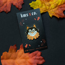 Load image into Gallery viewer, Halloween Kitty Pin