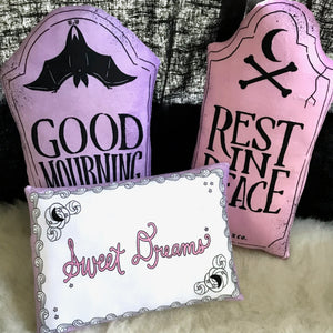 Sweet Dreams - Sheet Cake Throw Pillow