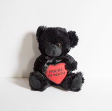 Load image into Gallery viewer, Join Me In Death - Black Teddy Bear