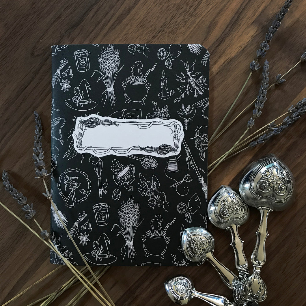 Kitchen Witchery Blank Notebook