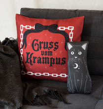 Load image into Gallery viewer, Gruss Vom Krampus - 18x18 Pillow Cover