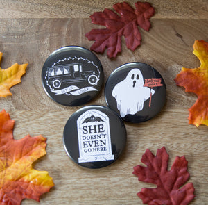 Mean Ghouls Button Pack