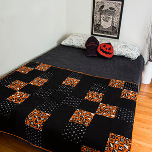 Harvest Moon Throw Quilt