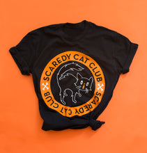 Load image into Gallery viewer, MISPRINTED/ IRREGULAR Scaredy Cat Club Unisex Tee