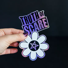 Load image into Gallery viewer, Truth or Scare Holographic Stickers - Choose One or All Three