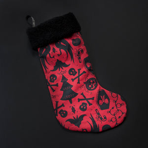 Haunted Holiday Stocking - Assorted Color Options
