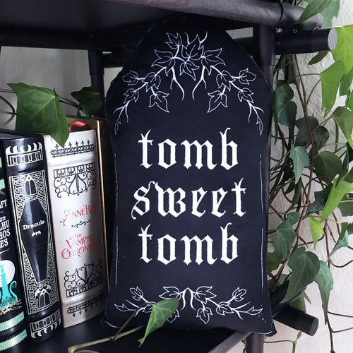 Tomb Sweet Tomb Throw Pillow