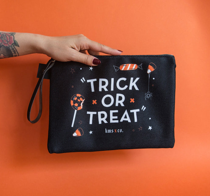 Trick or Treat Carry All Clutch