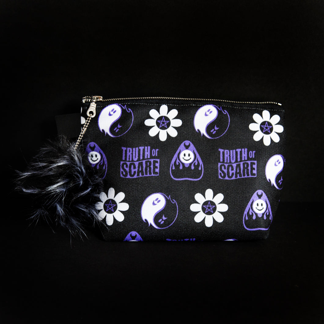 Truth or Scare Makeup Bag