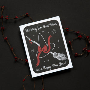 Witching Good Cheer Greeting Card