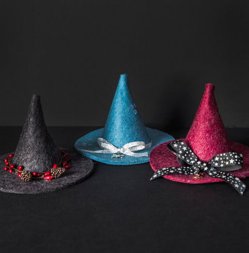 Mini Witch's Hat Decoration