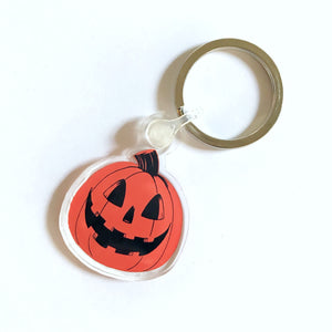Mini Pumpkin Keychain