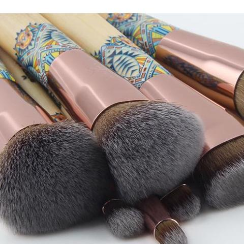 Rose Gold Designed Make up Brush Set