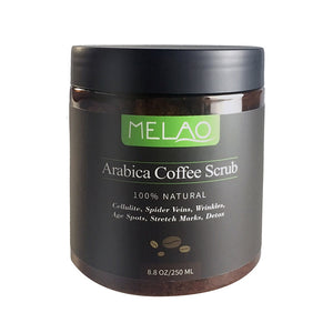 Dead Sea Salt and Coffee  Exfoliating Body Scrub