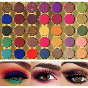 35 Color Vivid Color Eyeshadow Palette