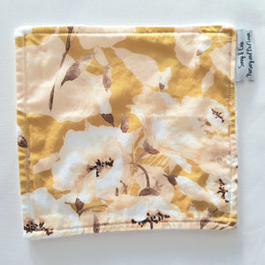 Golden Poppy Wash Cloth