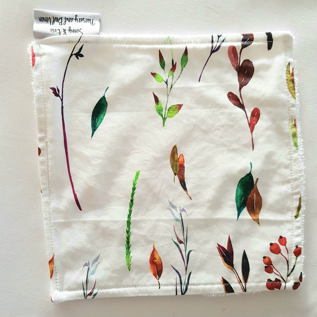 Autumn Leaves Wash Cloth