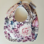 Mauve Everbloom Feeding Bib