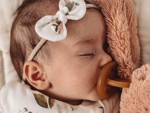 Natural Rubber Soother Dummy Pacifier | Round Single