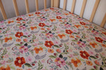 Country Garden Fitted Cot Sheet/Crib Sheets