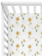 Sonny Days Fitted Cot Sheet/Crib Sheet