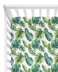 Tropical Jungle Fitted Cot Sheet/Crib Sheet