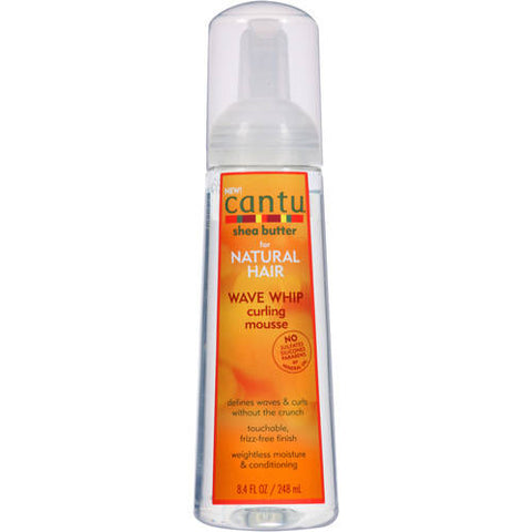 Cantu Shea Butter for Natural Hair Wave Whip Curling Mousse, 8.4 fl oz