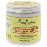 Shea Moisture Jamaican Black Castor Oil Strengthen & Grow Loc & Braid Butter - 6 oz Treatment