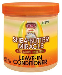 African Pride Shea Butter Miracle Leave-In Cond.15 Ounce (443ml) (2 Pack)
