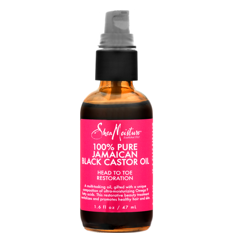 SheaMoisture 100% Pure Jamaican Black Castor Oil, 1.6 oz